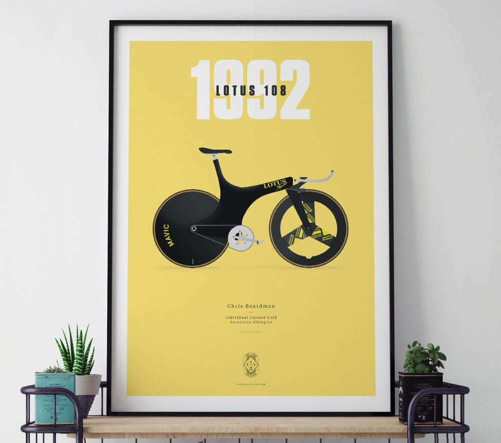 Image of Boardman's Lotus A3 or A4 print - by Parallax