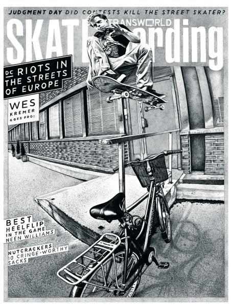 Image of Wes Kremer - TransWorld Skateboarding