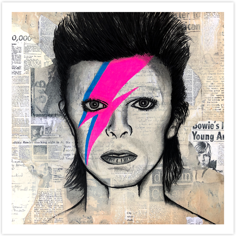 Image of David Bowie - Fine Art Print