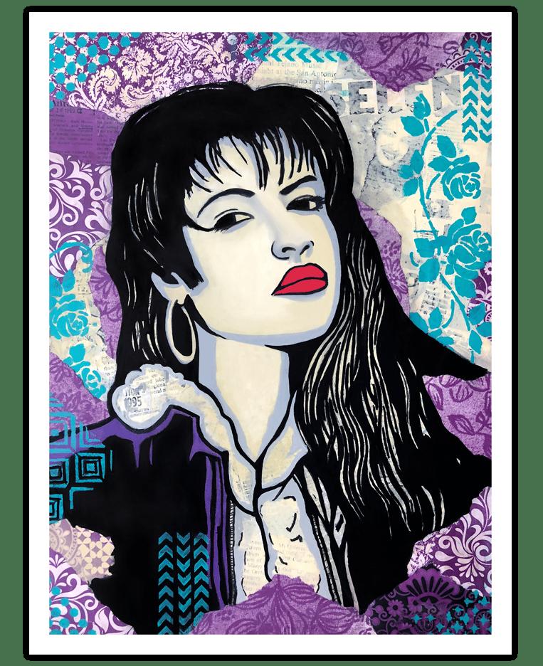 Image of Selena - Roses - Fine Art Print