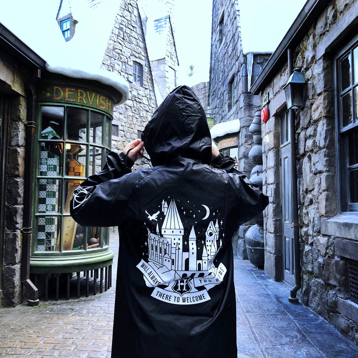 Image of School of Magic Windbreaker