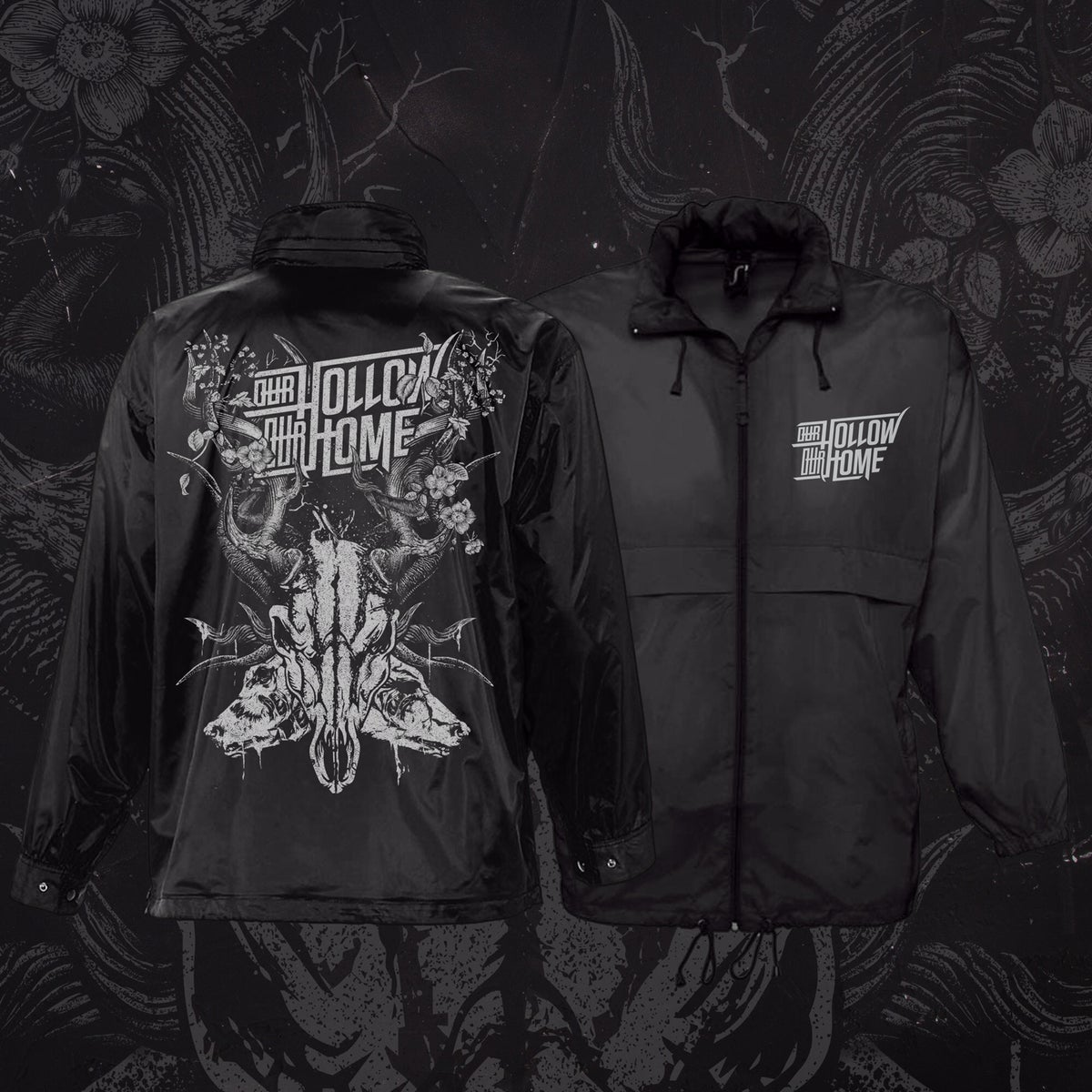 "Image of ""HARTSKULL"" WINDBREAKER"