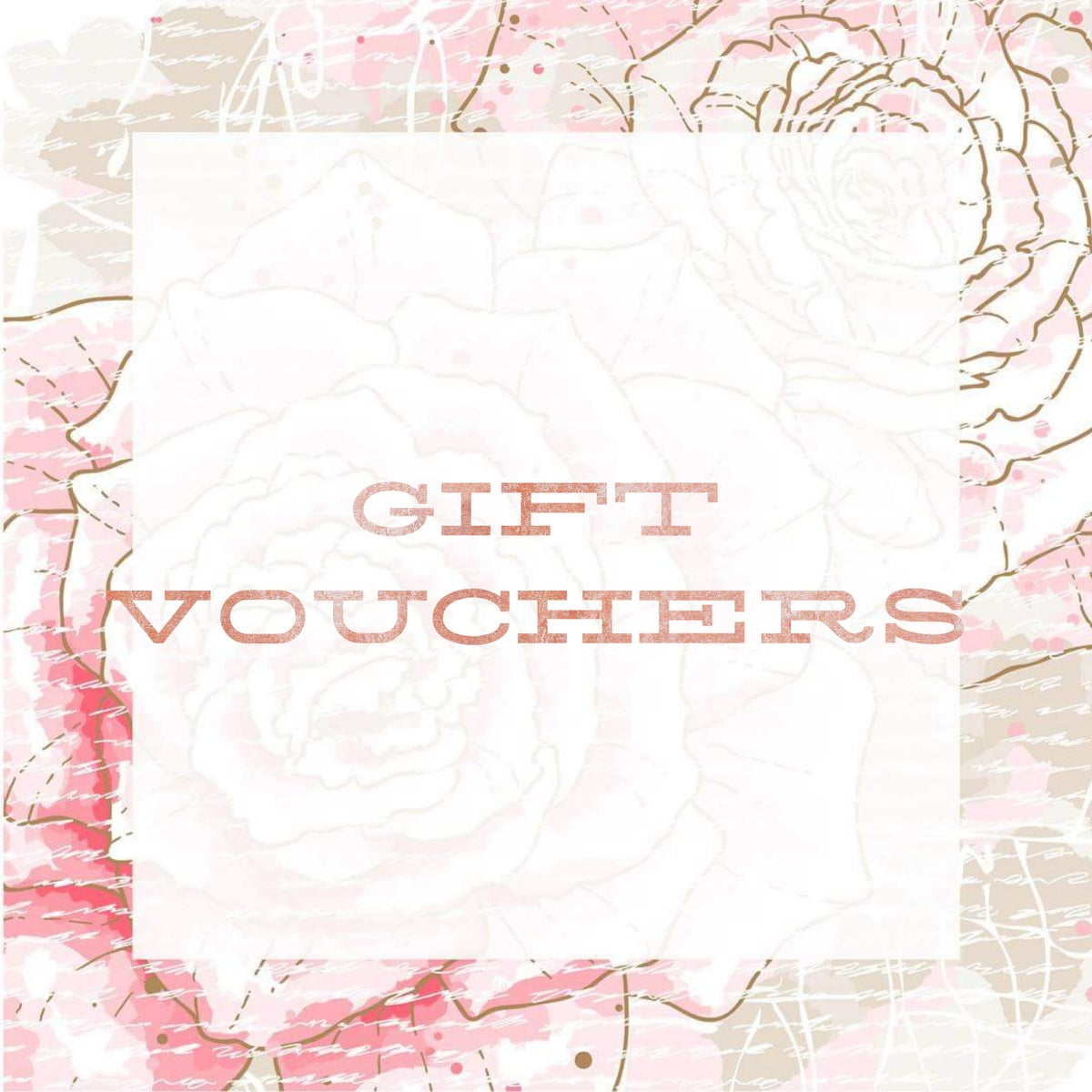 Image of Gift Vouchers - Choose your budget