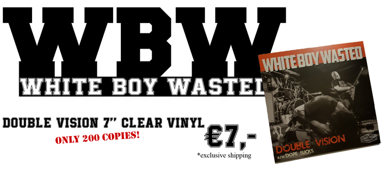 Image of Double Vision 7'' Clear vinyl