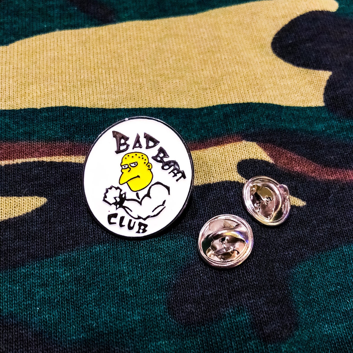Image of BB Club Soft Enamel Pin