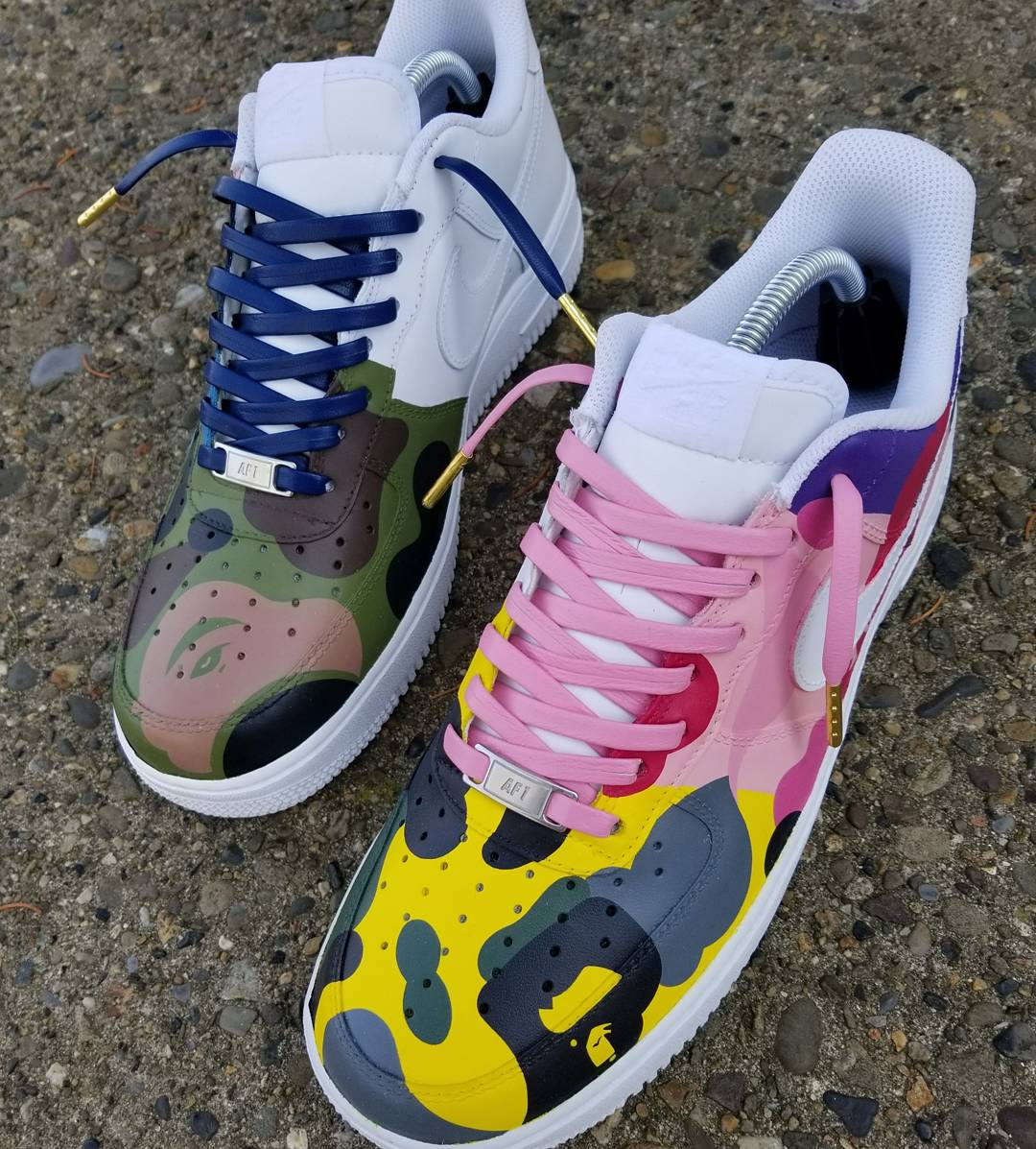 "Image of AF1 Low ""WHAT THE APE"""