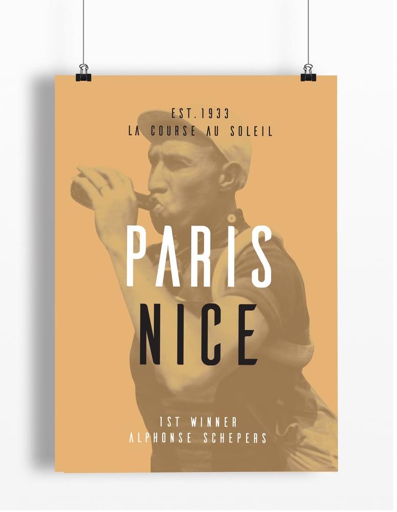 Image of Alphonse at Paris Nice print - A4 & A3