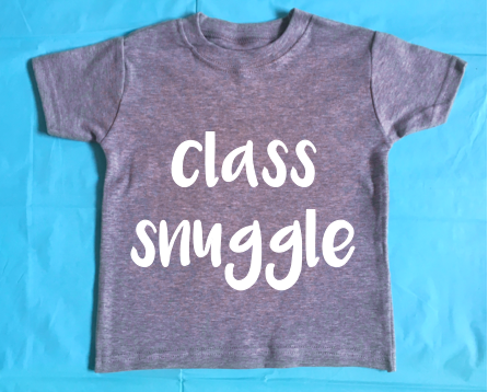 Image of class snuggle - t-shirt