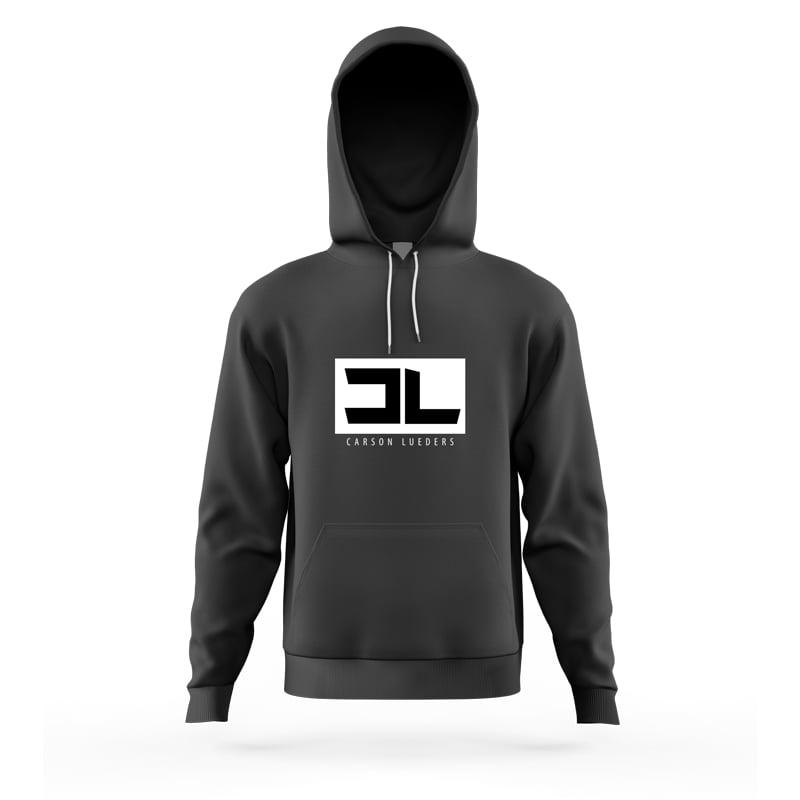 Image of Black CL Logo Hoodie
