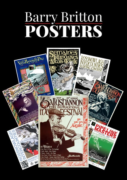 Image of Barry Britton Posters Book