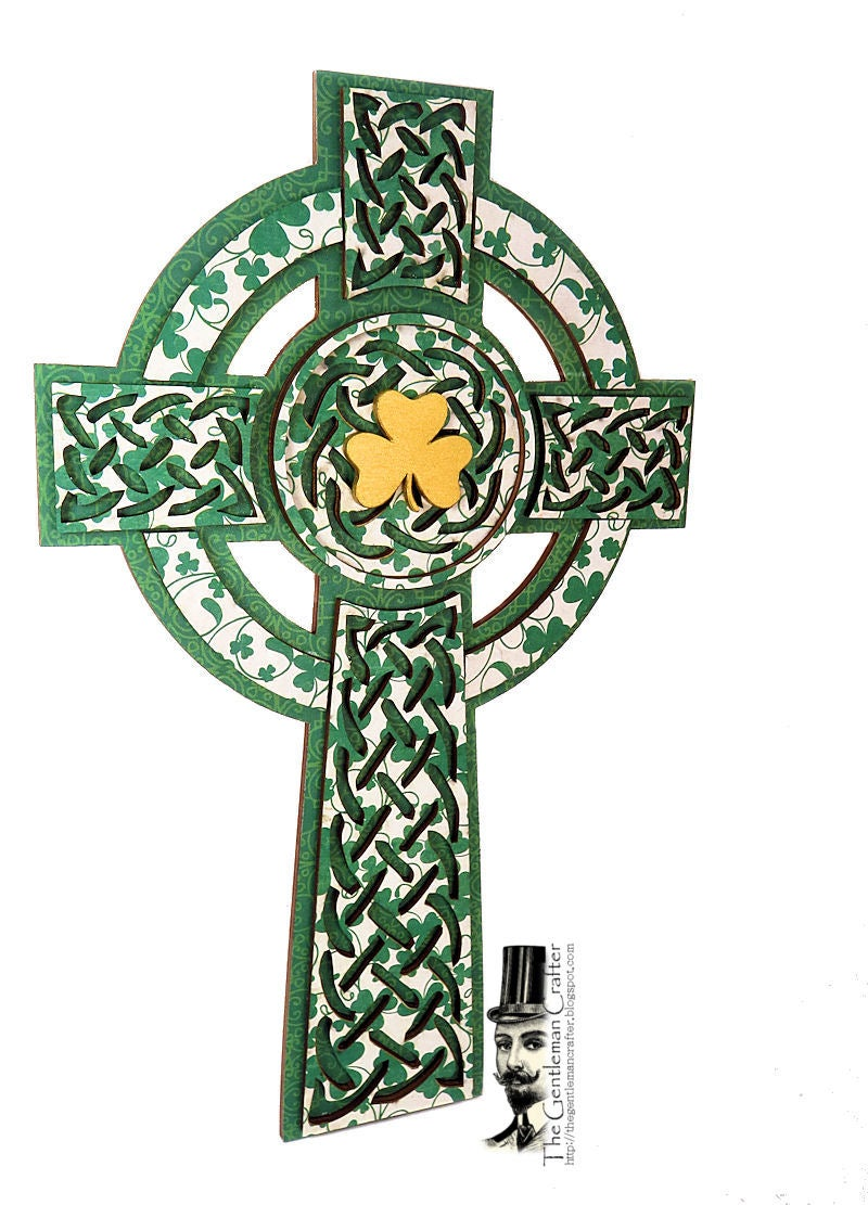 Image of Celtic Cross With Paper
