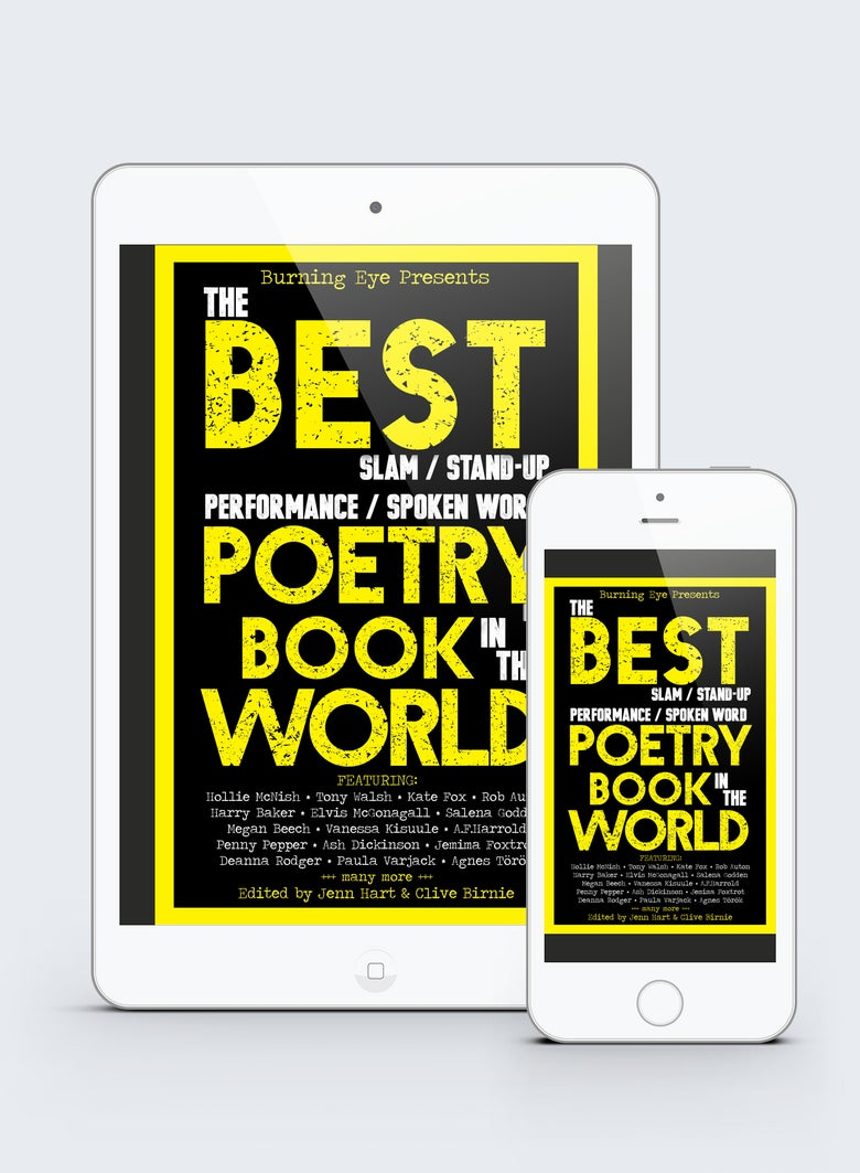 Image of The BEST Poetry EBook in the World edited by Jenn Hart and Clive Birnie