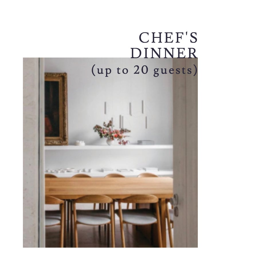 Image of HELP US KEEP NOURISHING YOU! A custom-crafted 4-course dinner for up to 20 guests