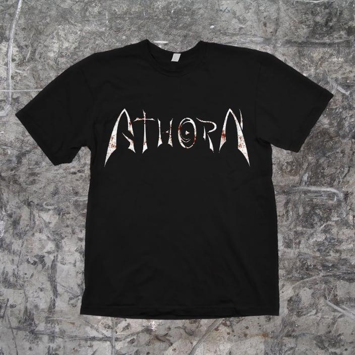 "Image of ATHORN - ""Logo"" Shirt (black)"