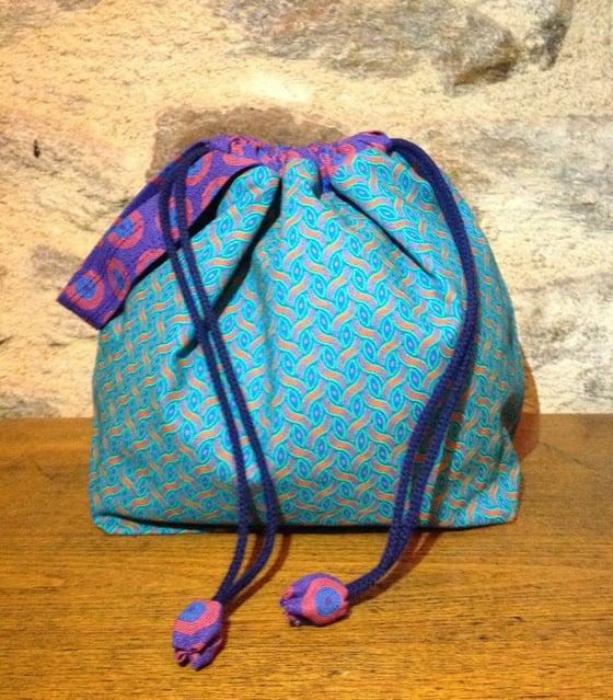 Image of On the go knitting bag