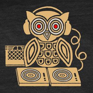 Image of Headphones Owl T-Shirt