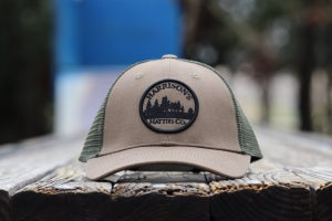 Image of Harrison's Hatties 'Lost in the Woods' Trucker Hat