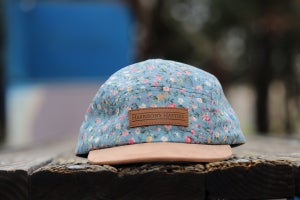 Image of Harrison's Hatties 'Stop & Smell the Flowers' 6 Panel Hat