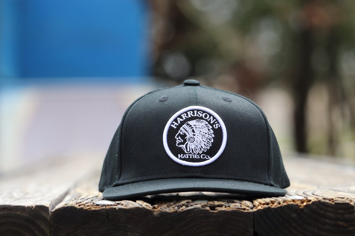 "Image of Harrison's Hatties ""Black Cherokee"" Snap Back"