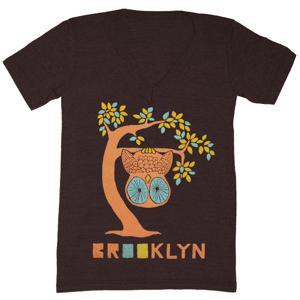 Image of BK Tree Owl V-Neck