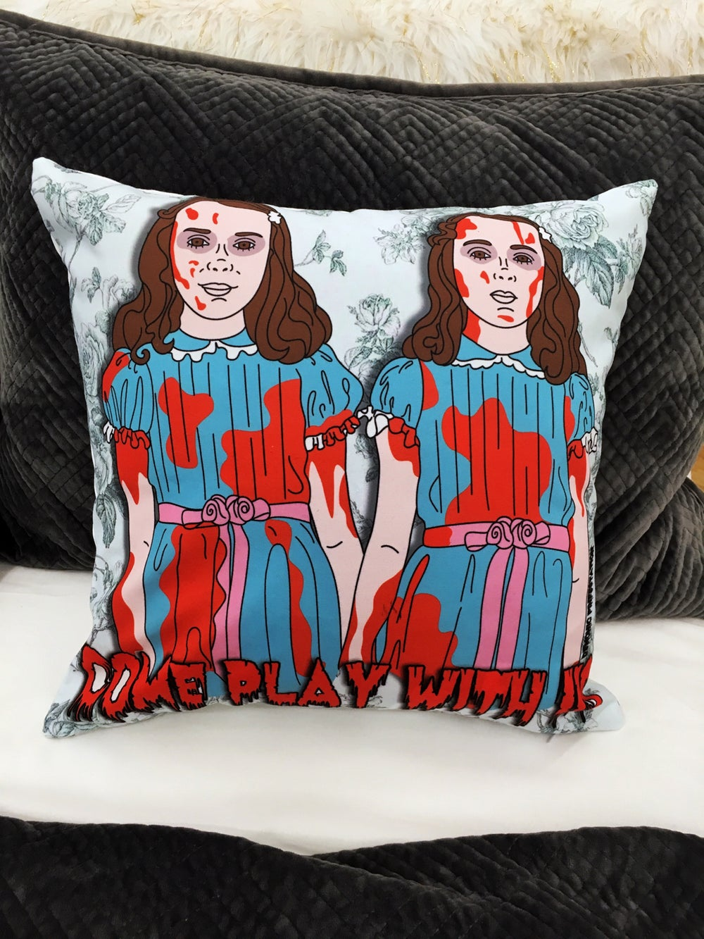 Image of Come Play With Us Pillowcase