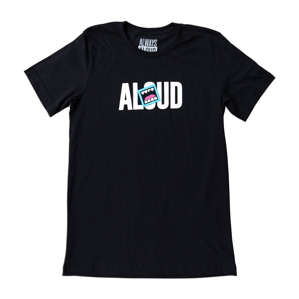 Image of ALOUD LOGO TEE