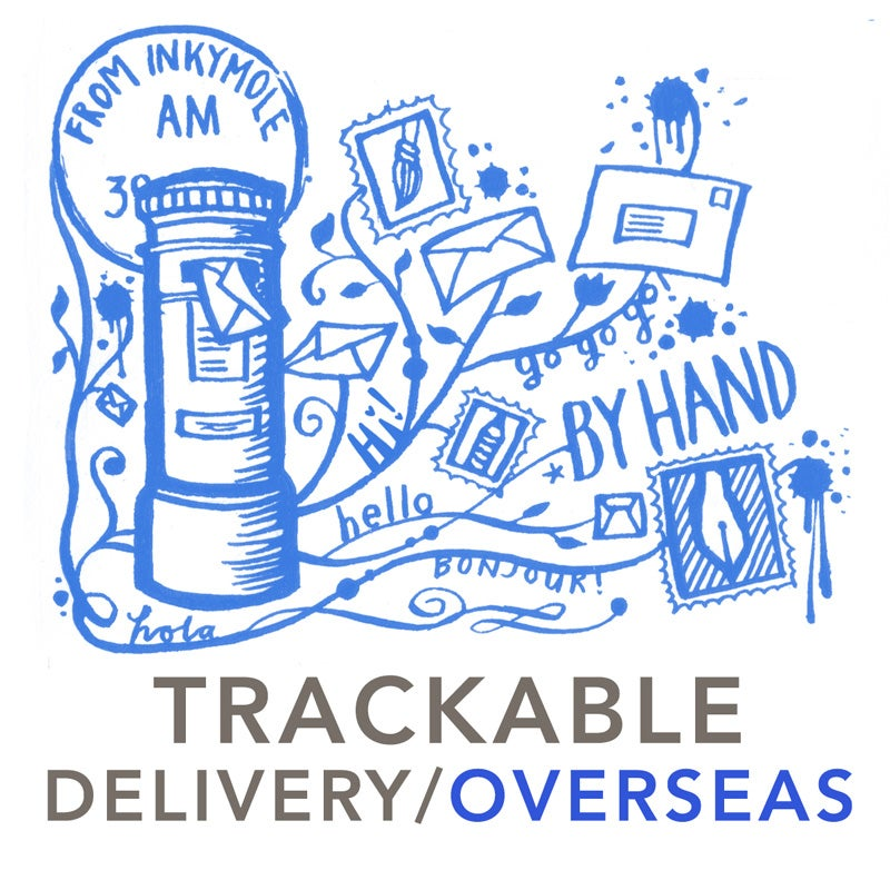 TRACKED POSTAGE / USA + rest of world