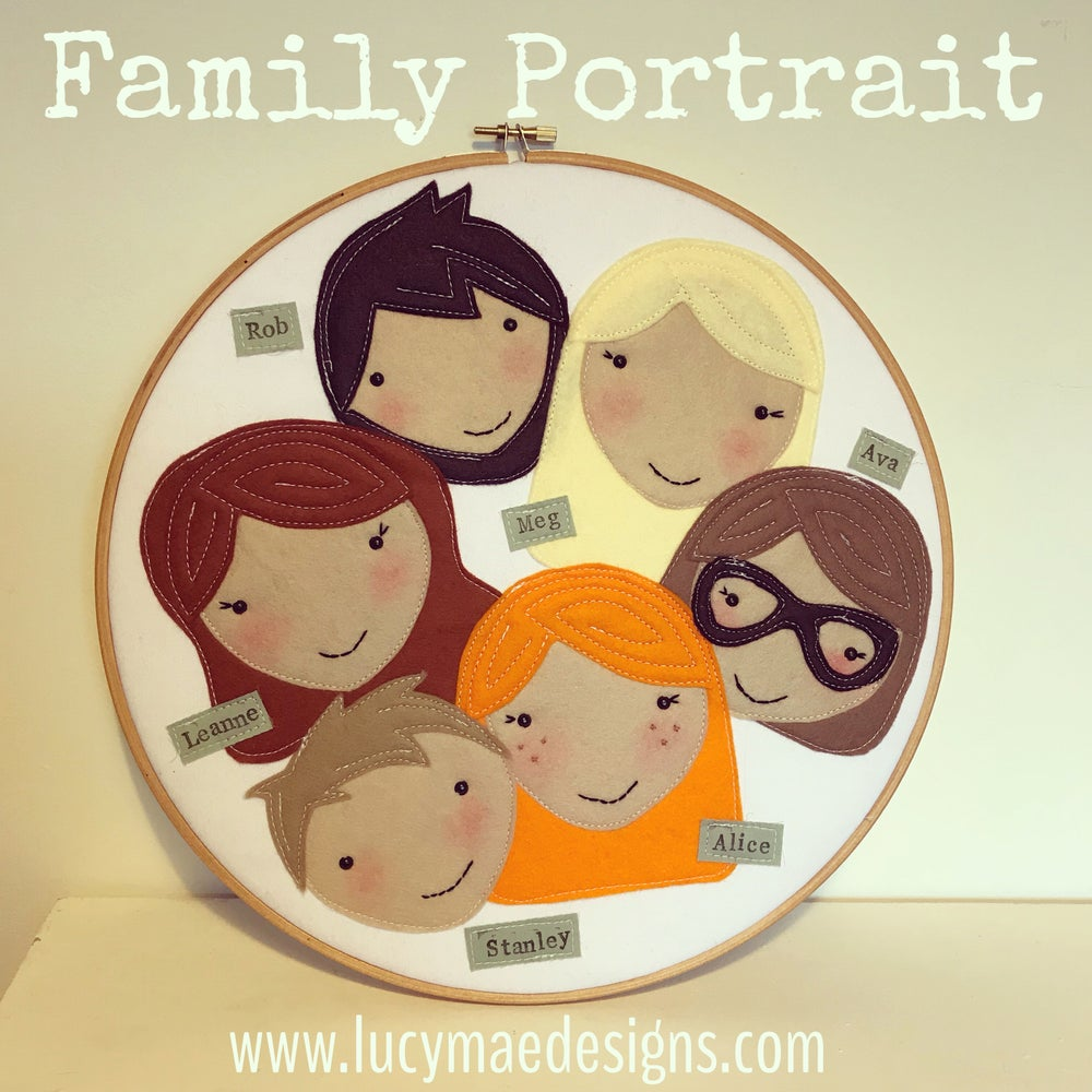 Image of Large Family Portrait Hoop