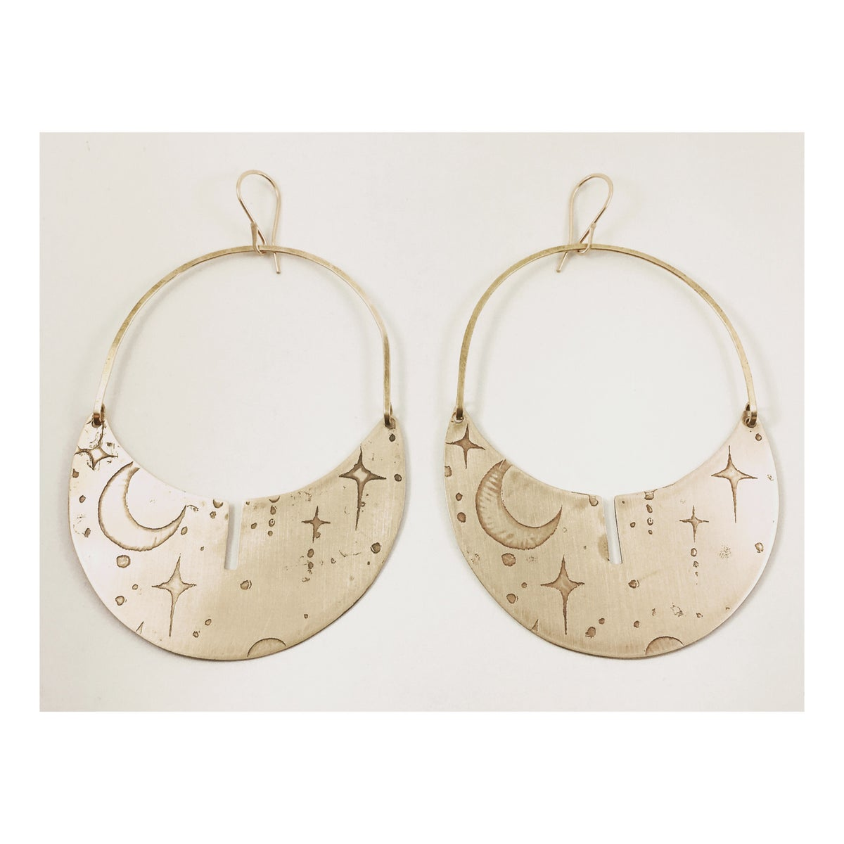 Image of Moons and Stars Hoops