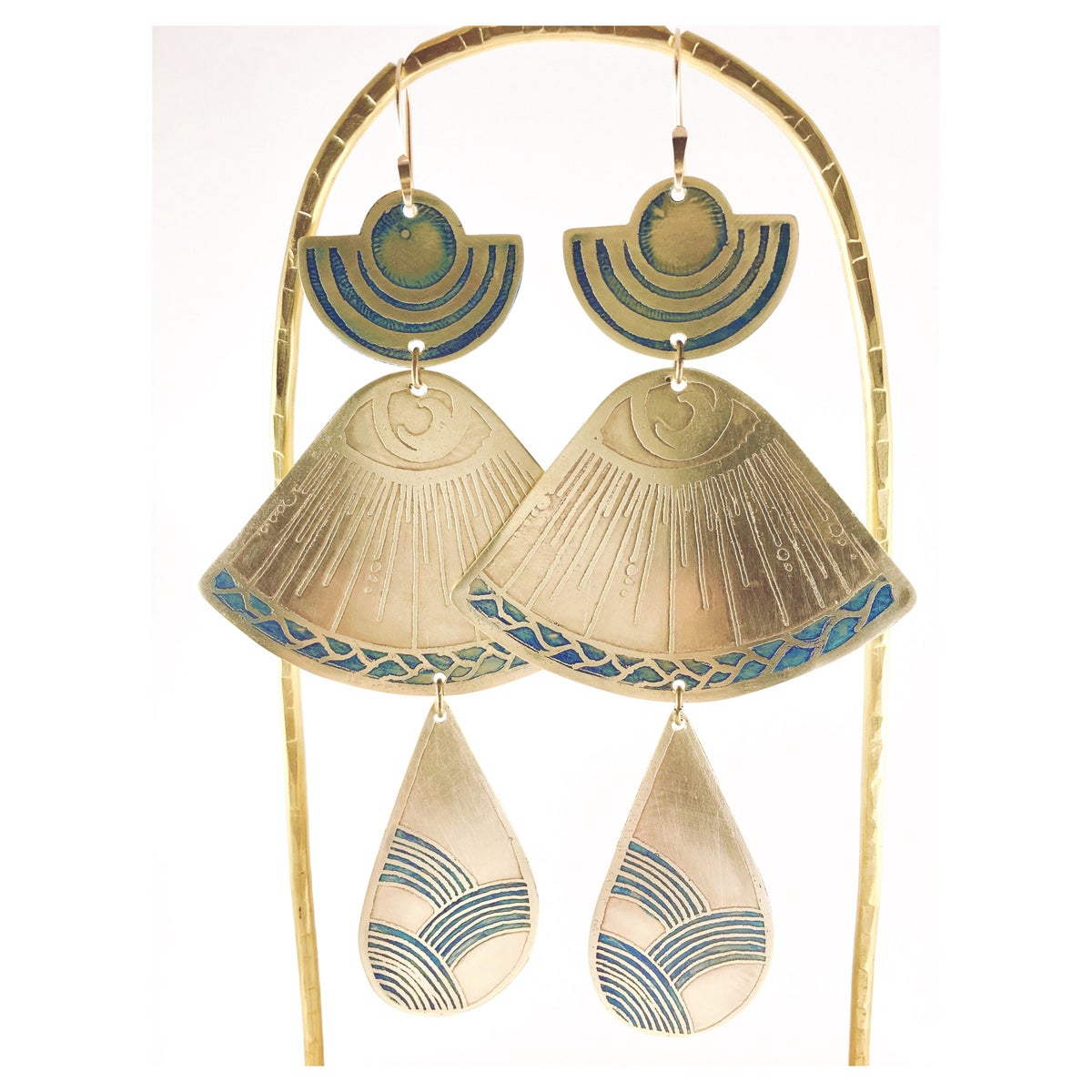 Image of Earthly Elements Earrings