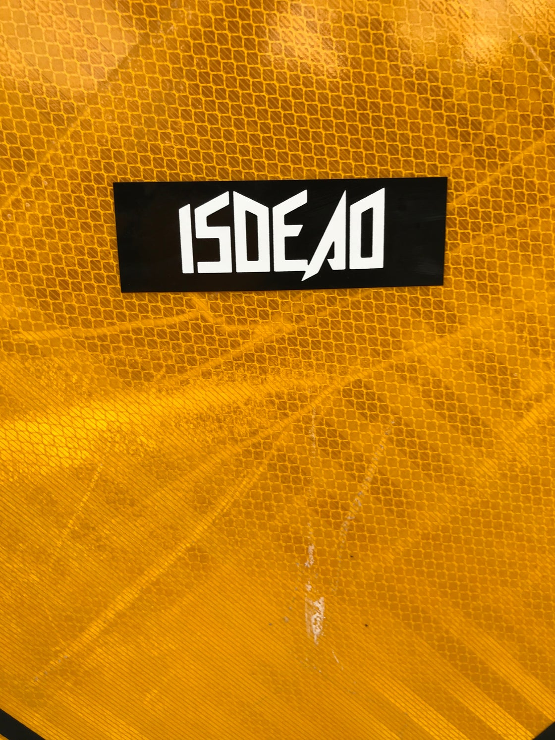 Image of ISDEAD stickers (3 Pack)
