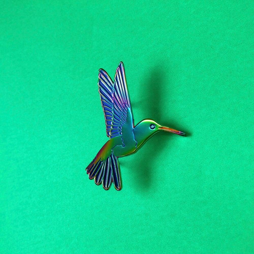 Image of NATURAL TREASURE - HUMMINGBIRD