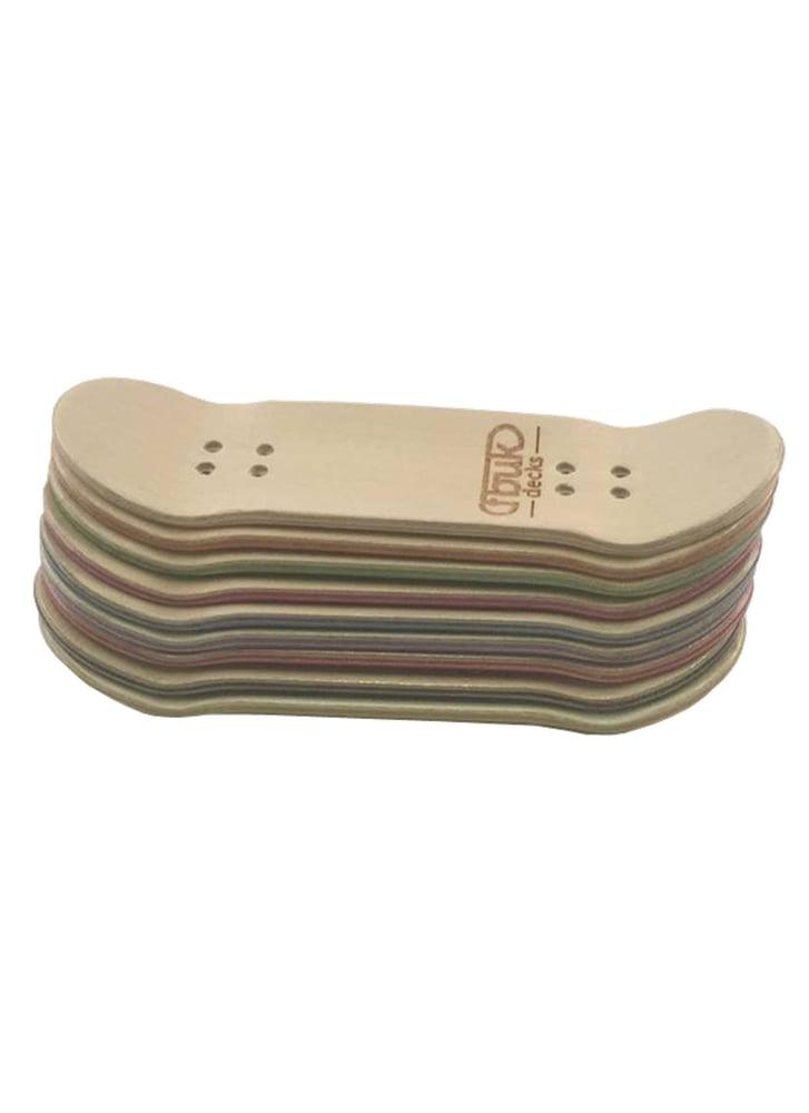 Image of FBUK Fingerboard Black Deck - 27mm