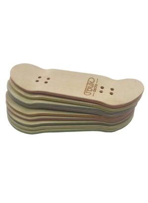 Image of FBUK Fingerboard Black Deck - 30mm
