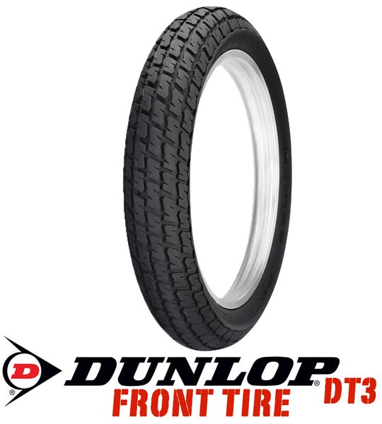 Image of Dunlop DT3 130/80- 19 F5 Medium