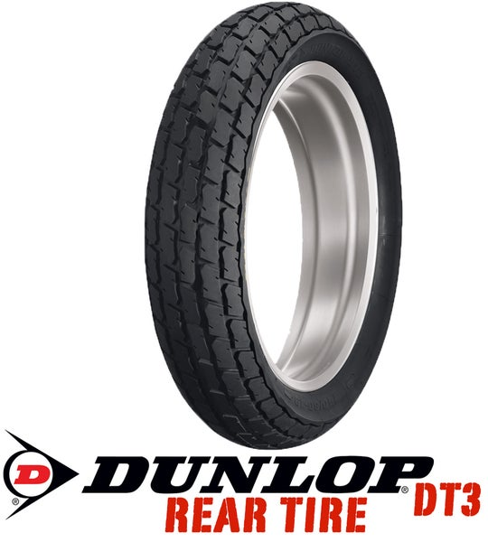 Image of Dunlop DT3 140/80-19 R5 Medium