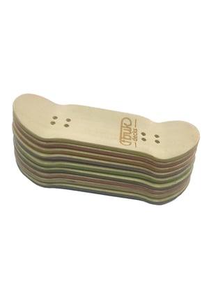 Image of FBUK Fingerboard Black Deck - 33mm
