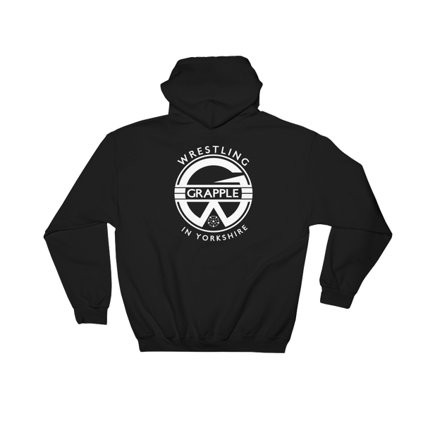 Image of Black Grapple Hoodie