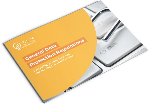 Image of General Data Protection Regulations Brochure Design