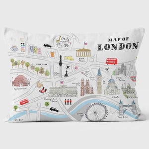 Alice Tait Map of London Cushion - Alice Tait Shop
