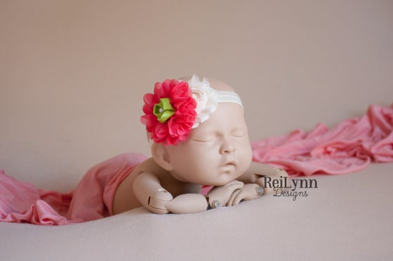 Image of Heidi Cluster Newborn Headband