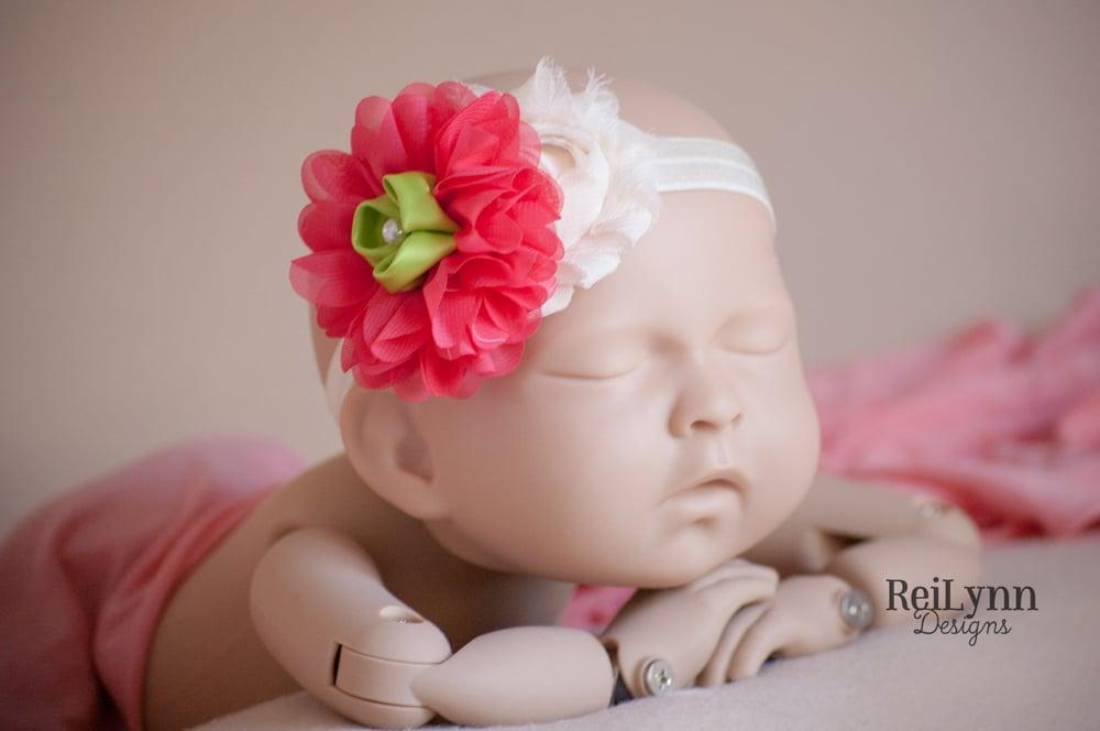Image of Heidi Cluster Newborn Headband