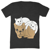 Image of Dog & Cats V-Neck