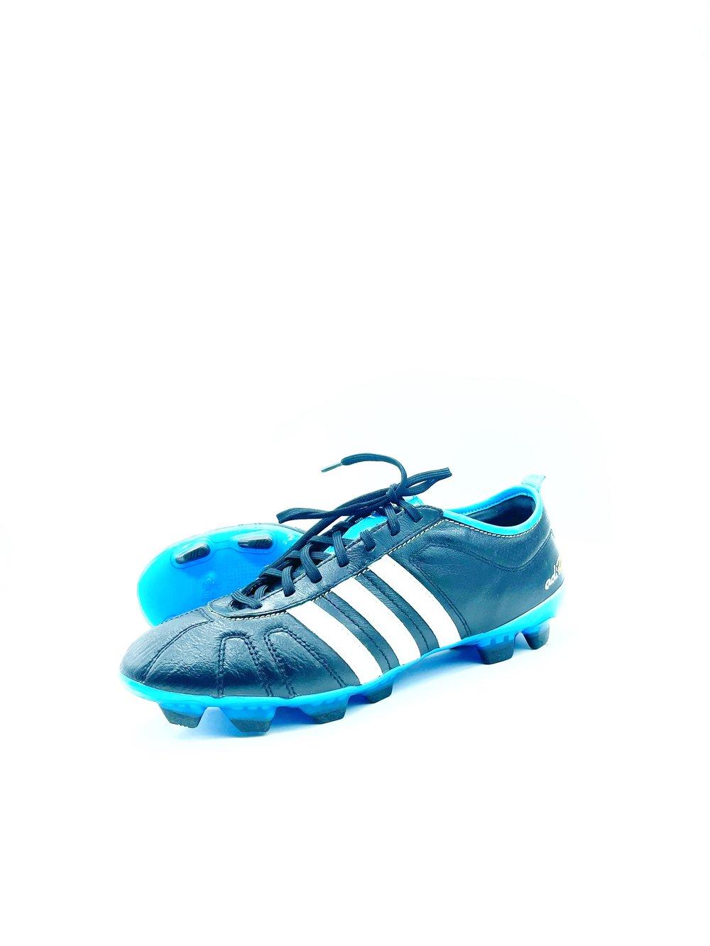 Image of Adidas adipure IV FG BLACK blue