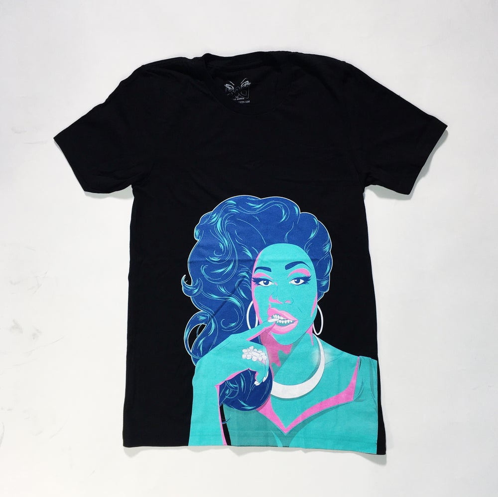 Image of Blue Portrait Tee