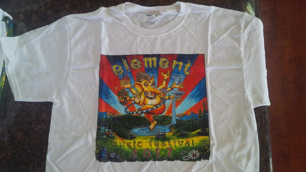 Image of Element Music Festival 2017 - Men's T-Shirt (white)