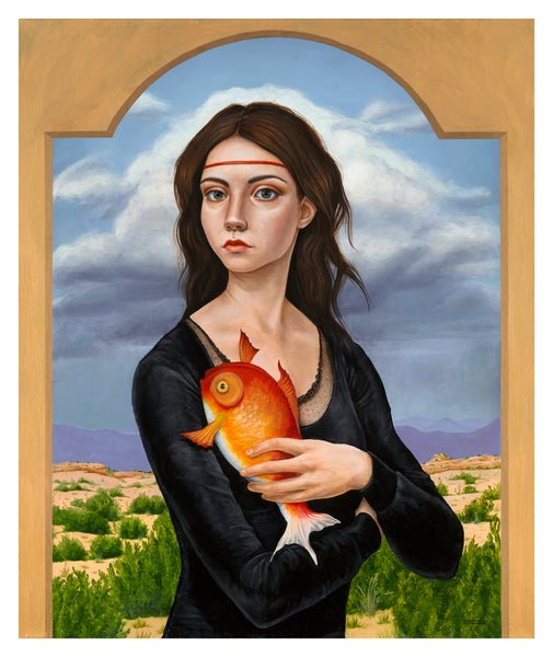 "Image of ""The Muse"" Limited Edition Print"