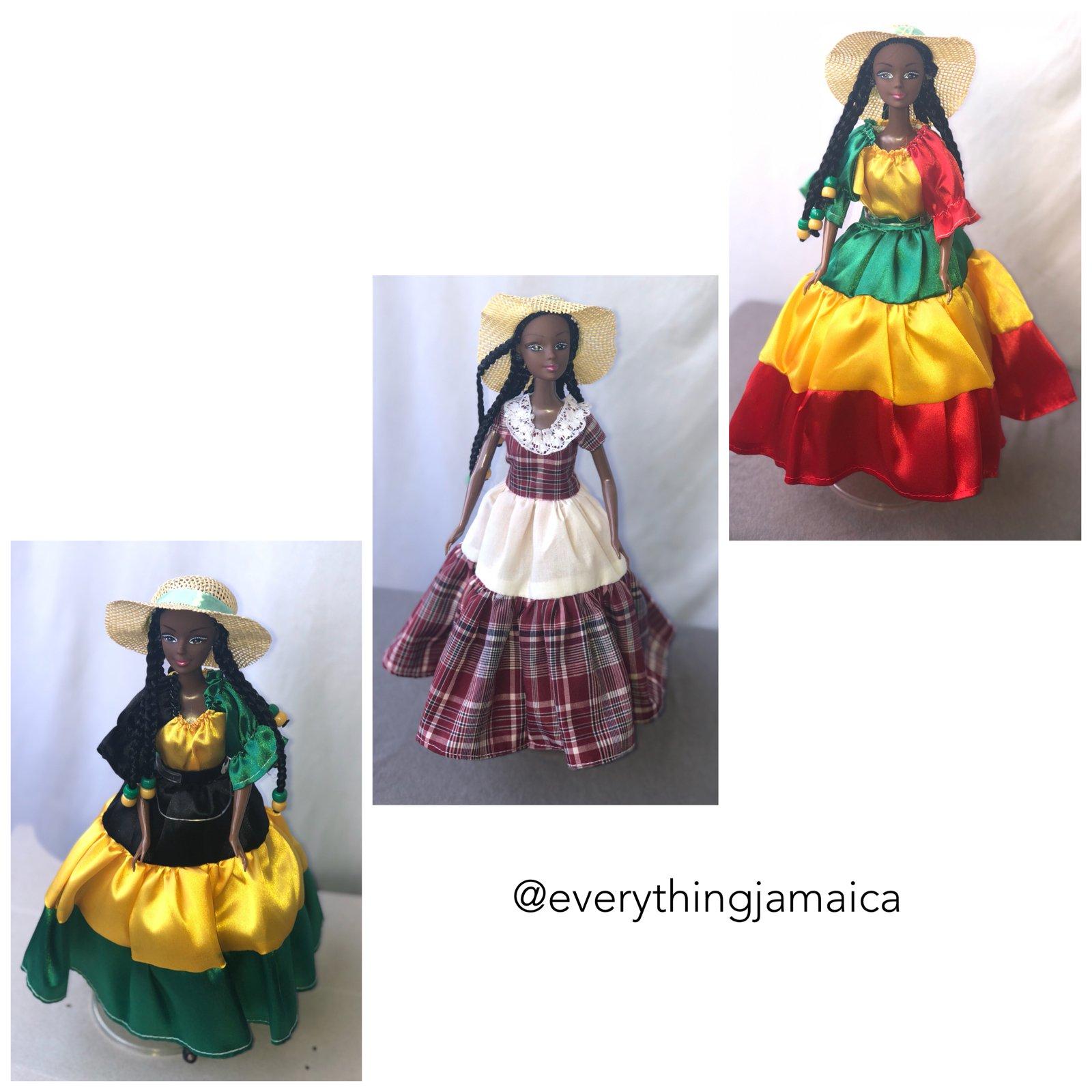 Image of Jamaica Reggae and Bandana Barbie Doll  sc 1 st  Everything Jamaica - Big Cartel & Jamaica Reggae and Bandana Barbie Doll | Everything Jamaica