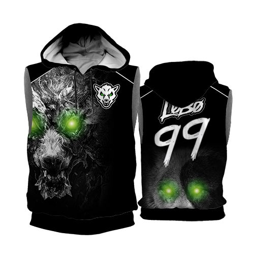 Image of LoBo Sleeveless Hoodies