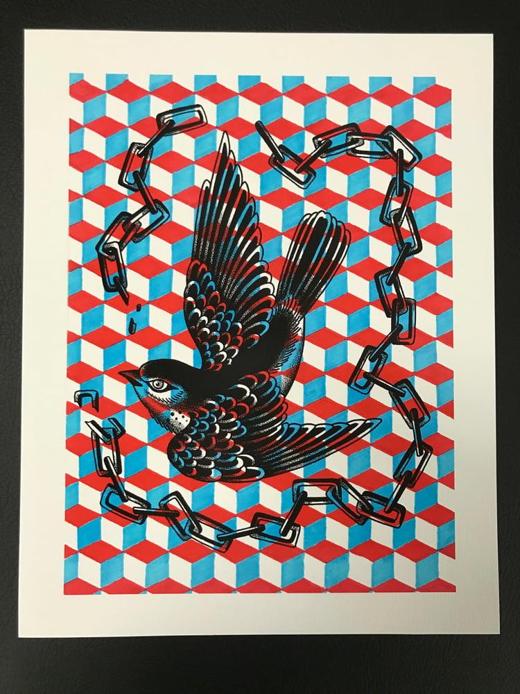 Image of 11x14 Bird Print by Jason Holley